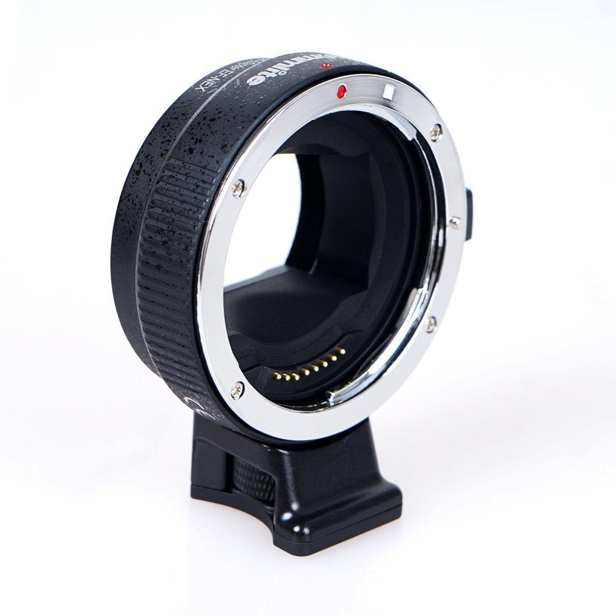 Adaptador Commlite AF EF-NEX Canon-Sony