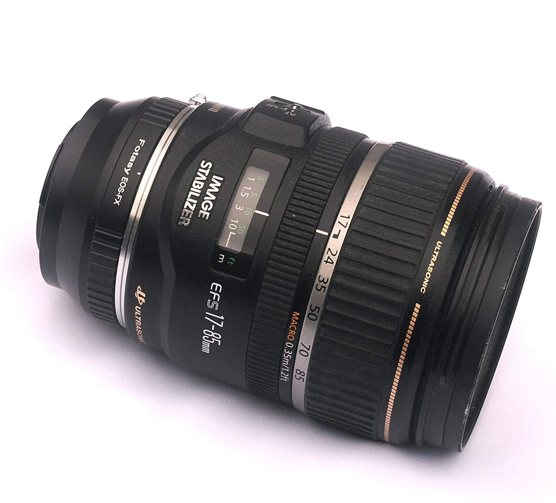 Adaptador Fotasy Canon EOS - Fujifilm X
