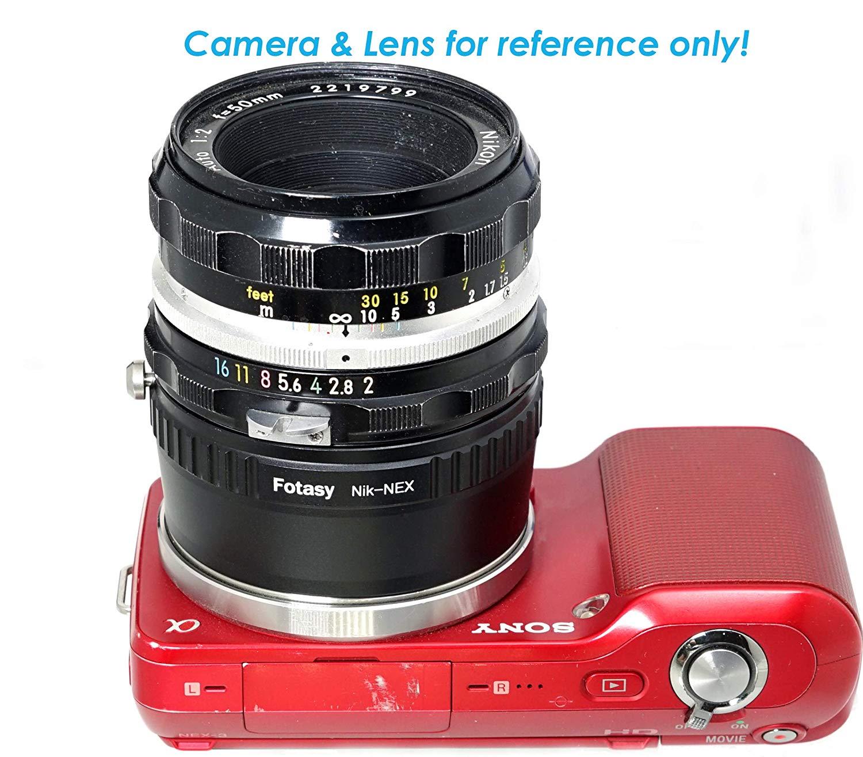 Adaptador Fotasy Nikon - Sony NEX E-mount