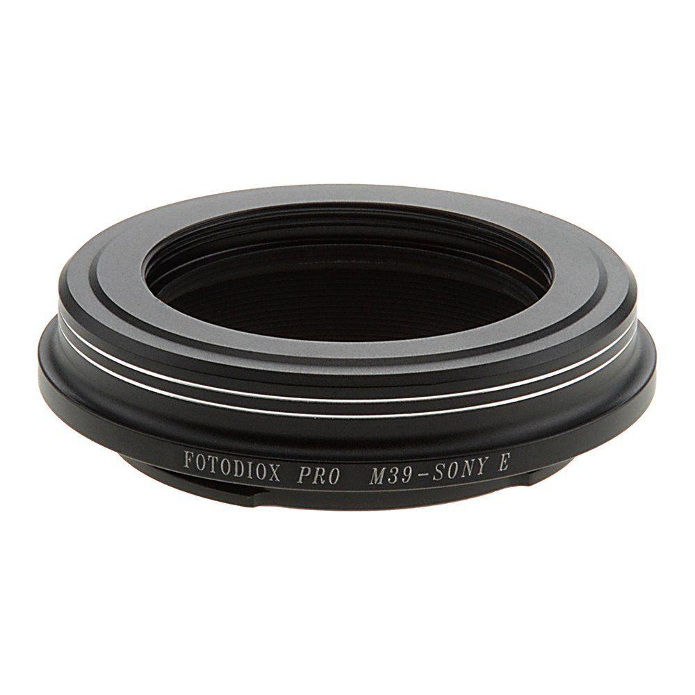 Adaptador Fotodiox Pro M39 - Sony NEX E-mount