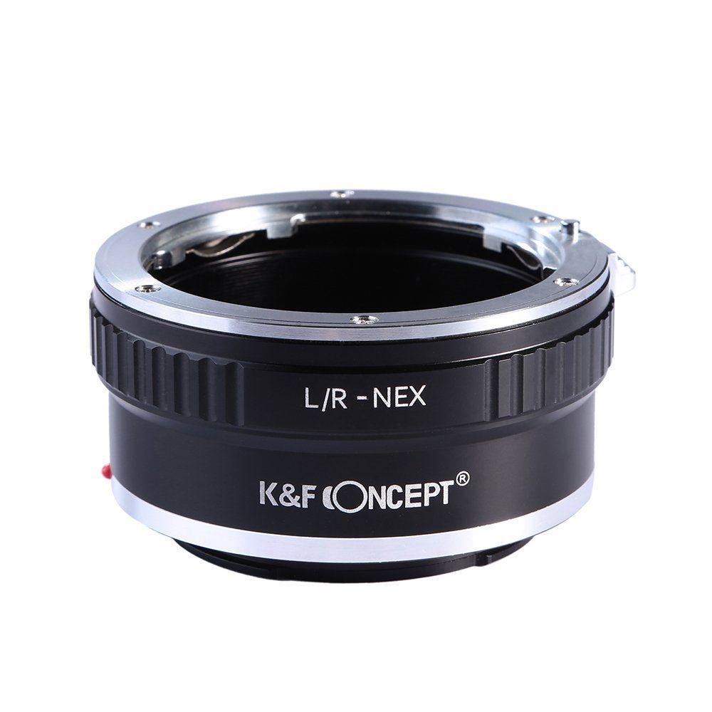 Adaptador K&F Leica R mount - Sony NEX E-mount