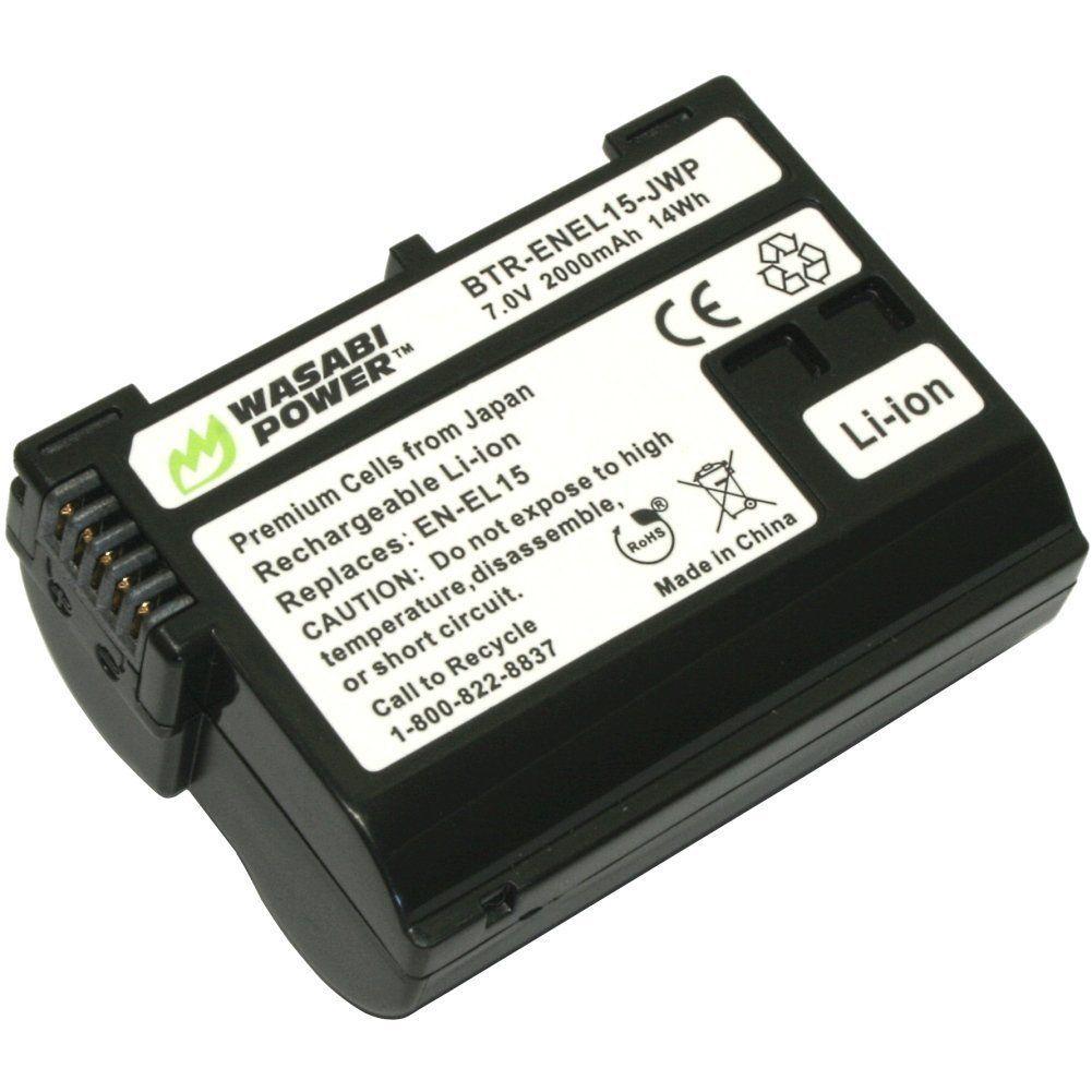 Bateria Wasabi EN-EL 15 – para Nikon