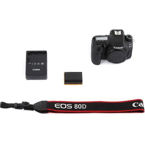 Câmera Canon 80D – Corpo