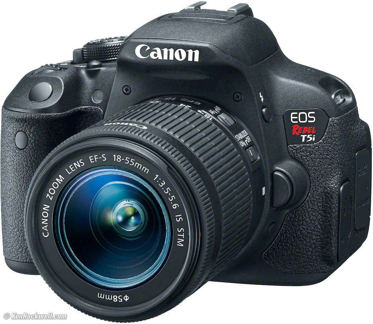Câmera Canon T5i – Kit 18-55mm
