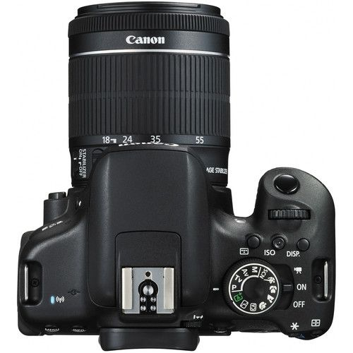 Camera Canon T6i com lente 18-55mm