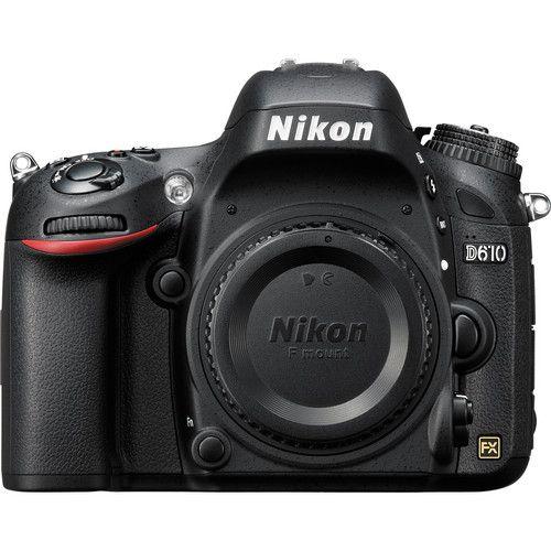 Câmera Nikon D610 – Corpo
