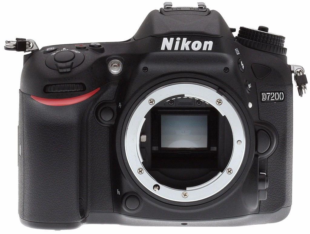 Câmera Nikon D7200 – Corpo