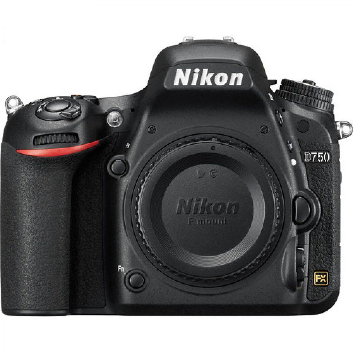 Câmera Nikon D750 – Corpo