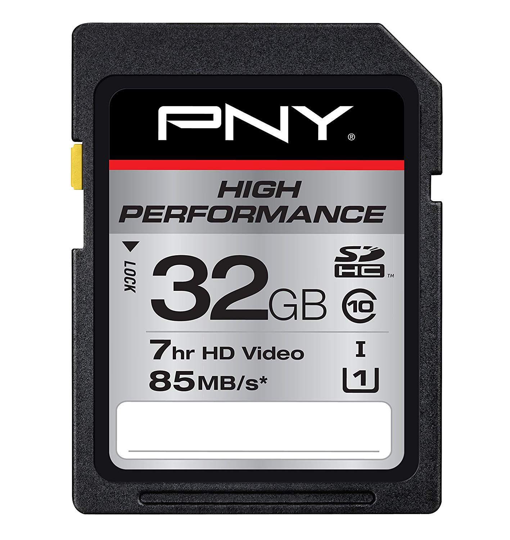Cartão SD 32gb 85mb – PNY