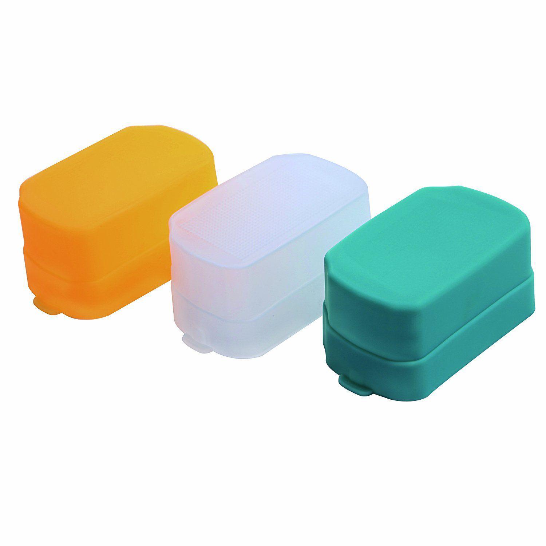 Difusor para Flash FD-600 EX-RT – Kit com 3 Cores
