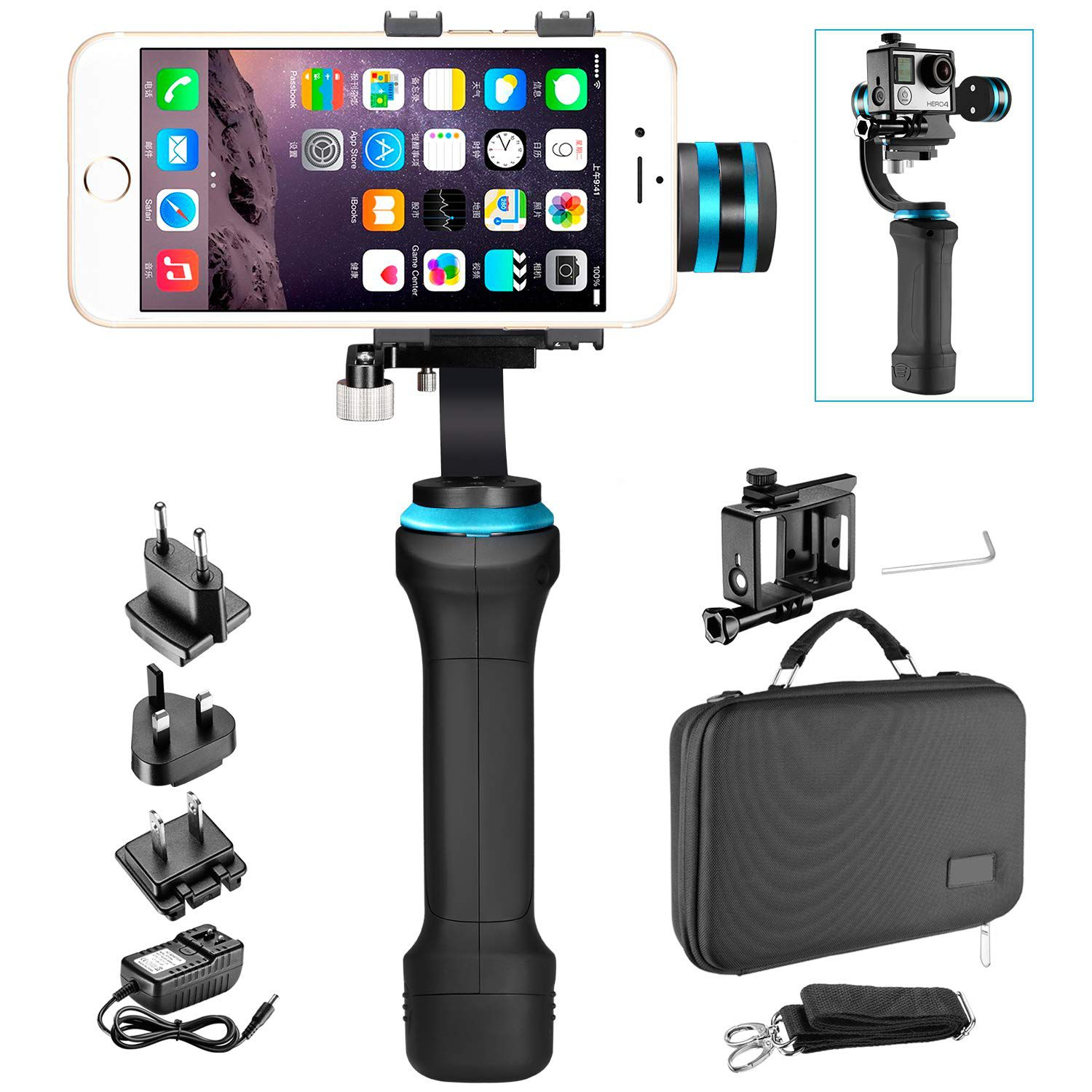Estabilizador para Smarthphone e GoPro – Neewer
