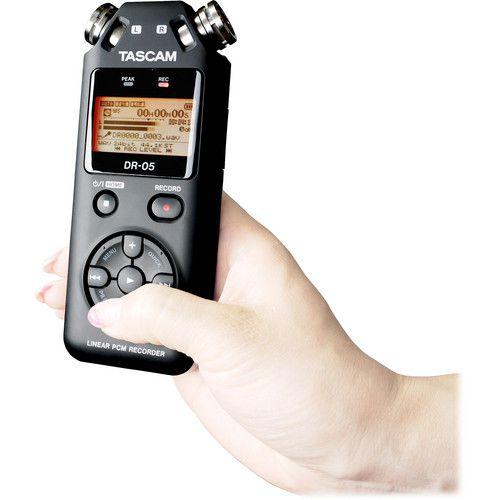 Gravador de Áudio Tascam Dr-05