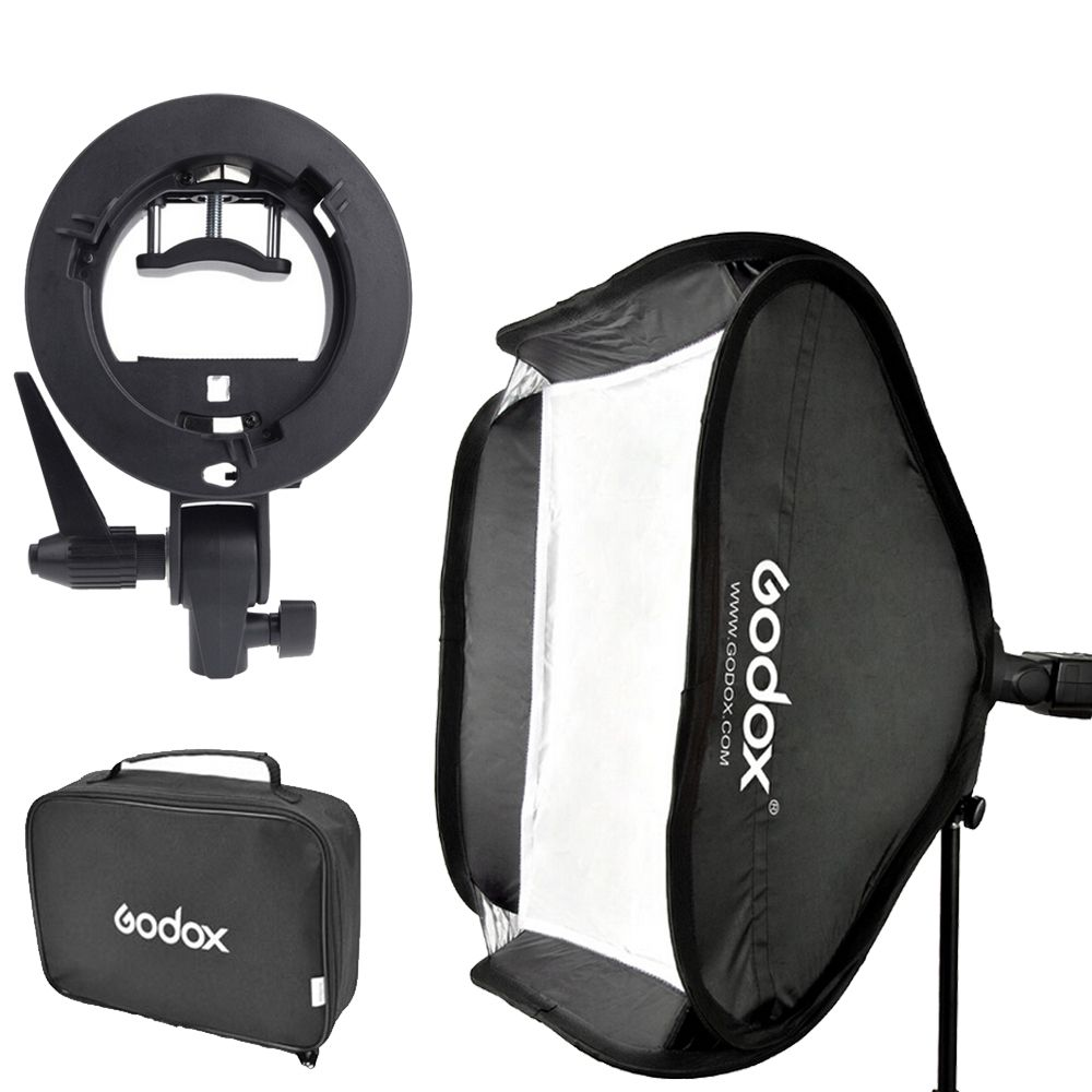 Kit Softbox Godox 60x60cm