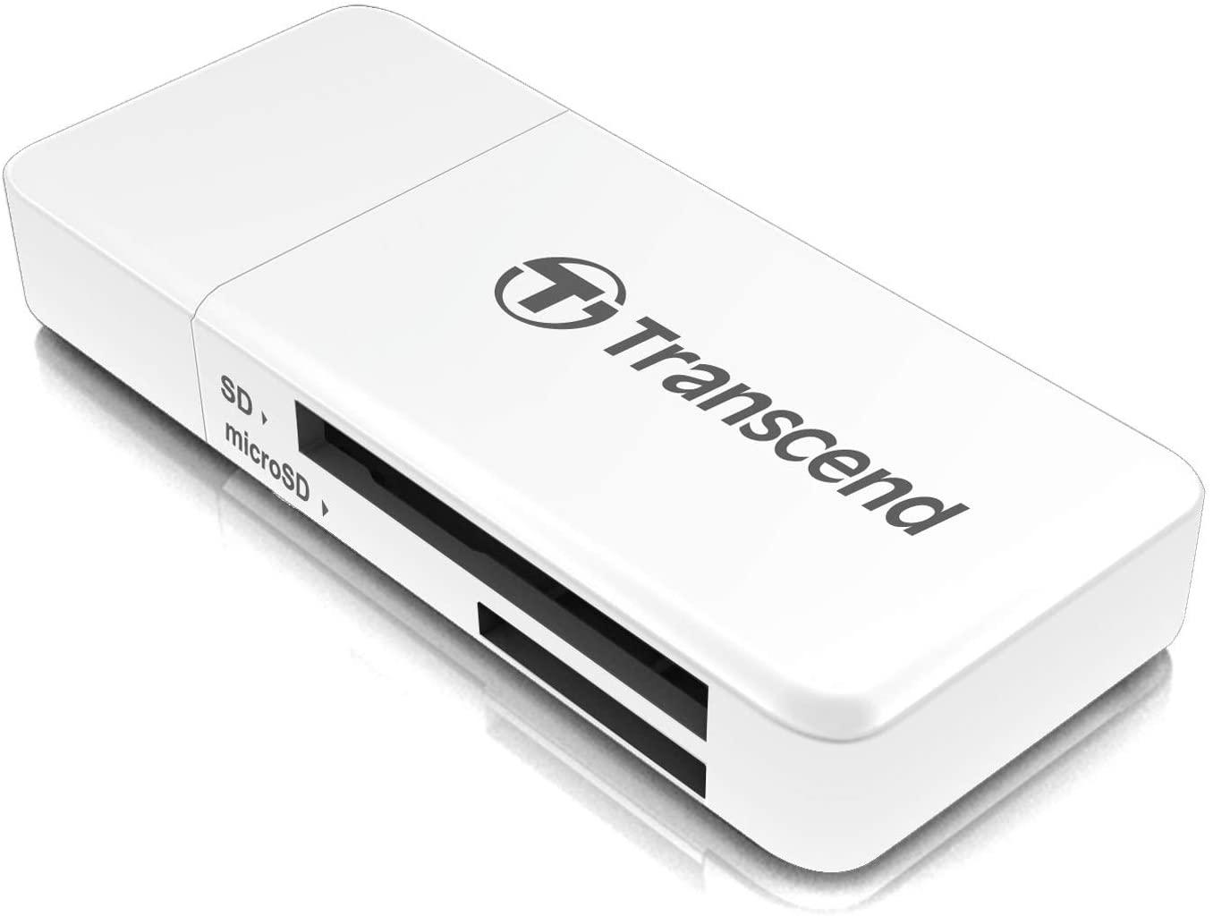 LEITOR DE CARTÃO USB 3.0 CARD TRANSCEND