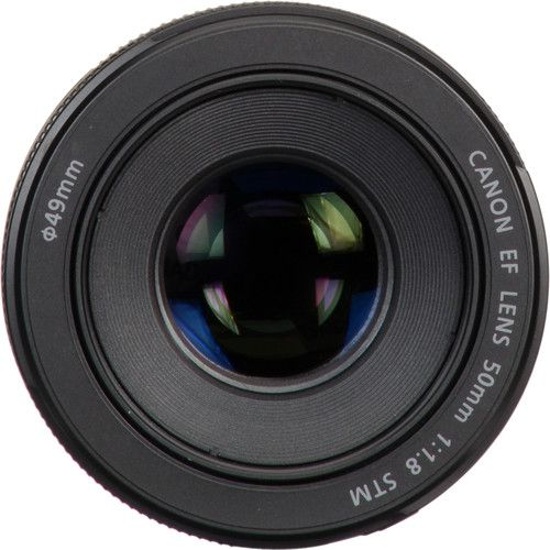 Lente Canon 50mm 1.8 EF STM