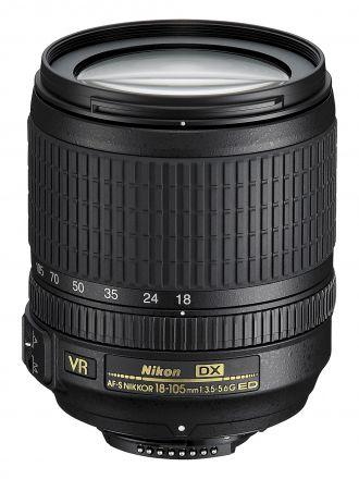 Lente Nikon Af-S Nikkor 18-105mm F/3.5-5.6g Ed Vr