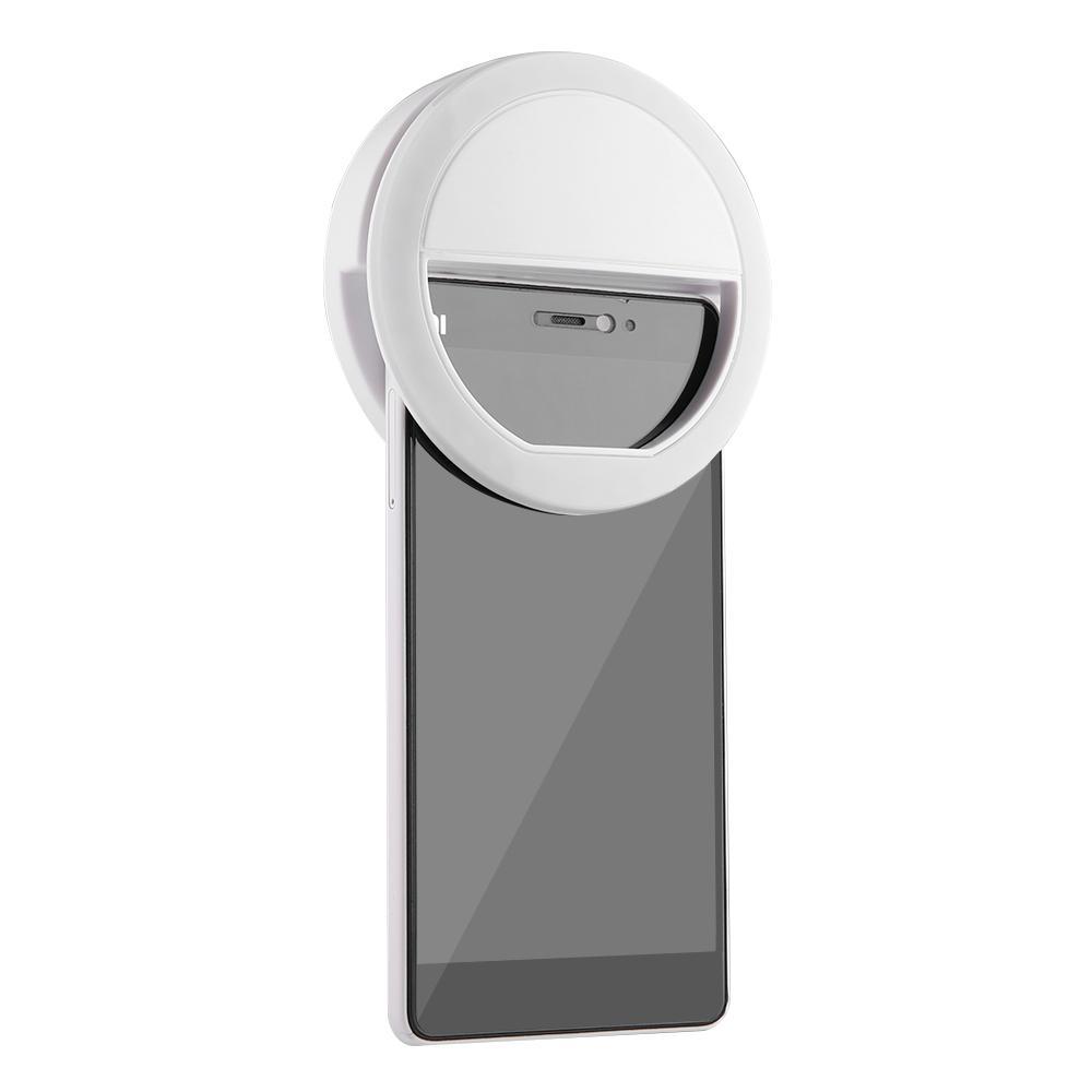 Luz De Selfie Ring Light Clipe Anel Led Flash Celular Tablet