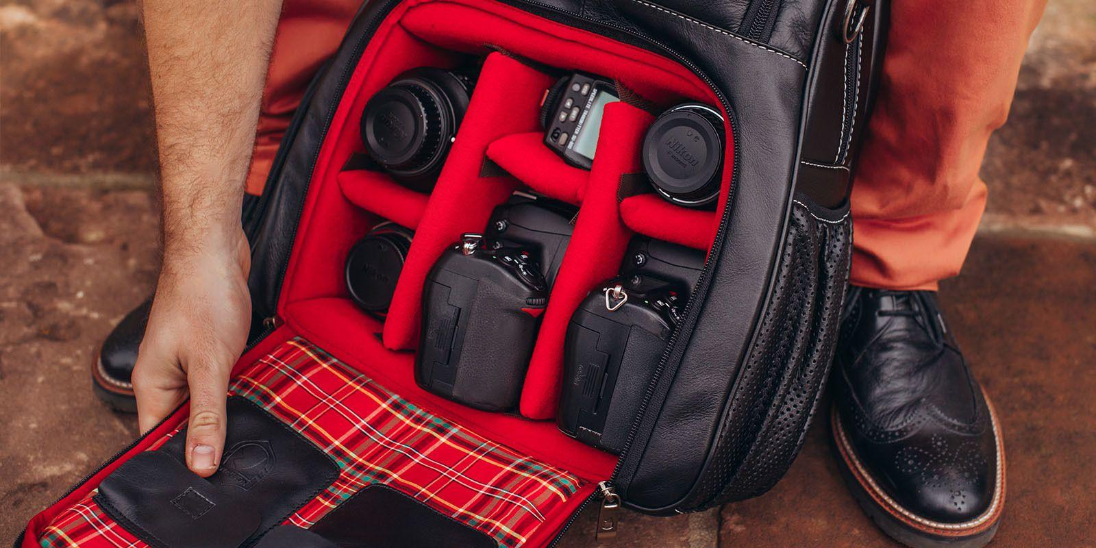 Mochila de couro para fotógrafos 2.0 NW055 – Nordweg