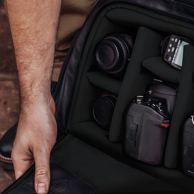 Mochila para Fotógrafos Black Edition NW088 – Nordweg