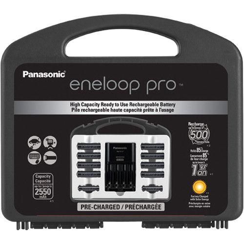 Pilha Eneloop Pro Aa 2.550mAh – Maleta