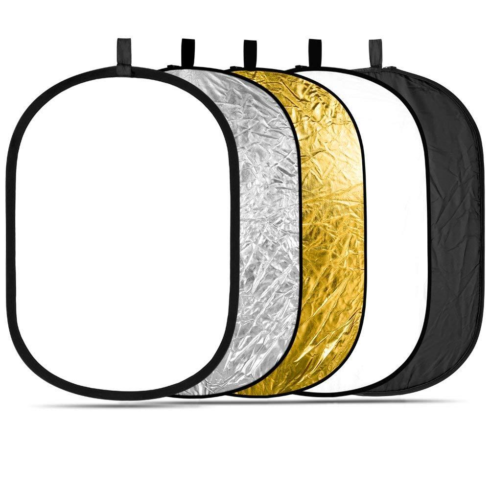 Rebatedor Retangular Fotografico 100x150cm 5×1