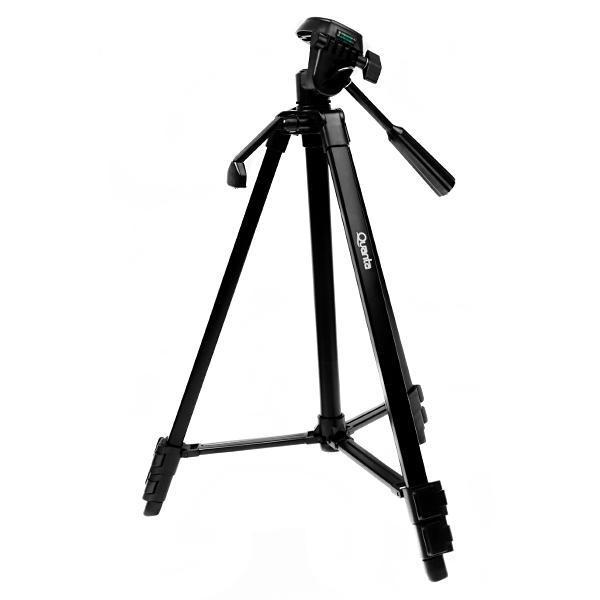 Tripé Com 50 a 135 cm c/ 3 Eixos para Câmeras Fotográficas e Filmadoras