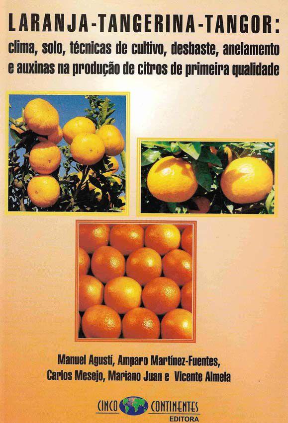 Laranja- Tangerina - Tangor : Clima, solo, técnicas de desbaste, anelamento e auxinas na produção de citros de primeira qualidade