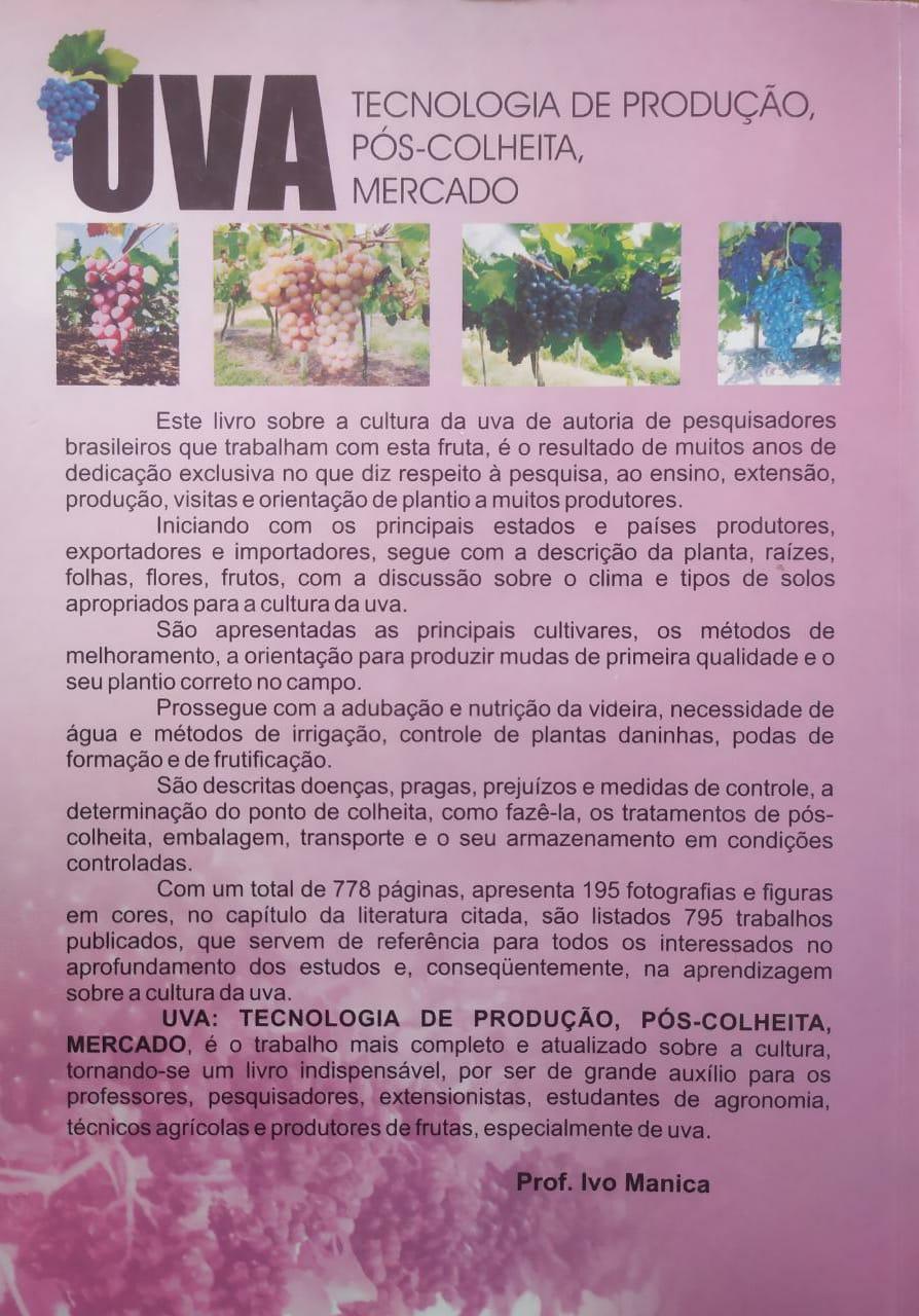 UVA -  A -  Tecnologia de  Produção, Pós-colheita, Mercado -ESGOTADO