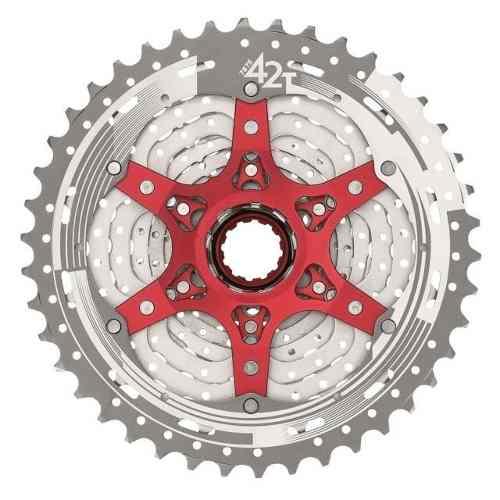 Cassete Bike Sunrace Mx3 10v 11/42 + Corrente Shimano 10v