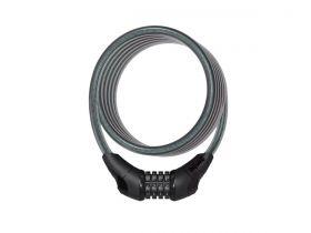 Cadeado Espiral 12Mm x 1,2M Onguard Neon 8169 Segredo Preto