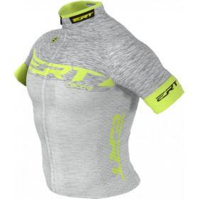 Camisa Ciclismo Ert Elite Racing Prata Mtb Speed
