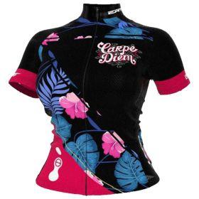 Camisa Ciclismo Ert Feminina Tour Carpe Diem Mtb Speed