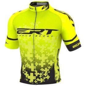 Camisa Ciclismo Ert Nova Elite Team Amarela Mtb Speed