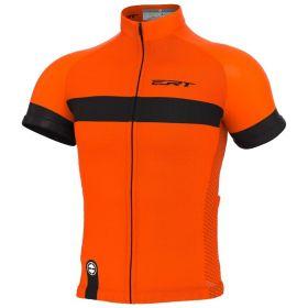 Camisa Ciclismo Ert Nova Tour Stripe Orange Mtb Speed