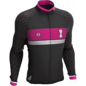 Camisa Ciclismo Ert Manga Longa Tour Fight For Pink Mtb Speed