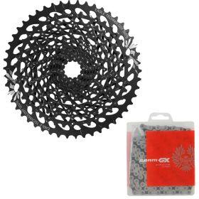 Cassete Bike Sram Gx Eagle XG1275 12v 10/50 + Corrente Sram Gx 12v