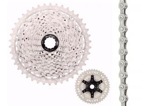 Cassete Bike Sunrace Ms3 10v 11/42 + Corrente Sunrace 10v