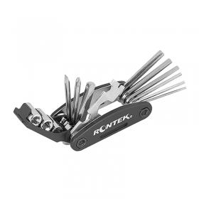 Kit Ferramentas Canivete Bike Rontek 16 funções