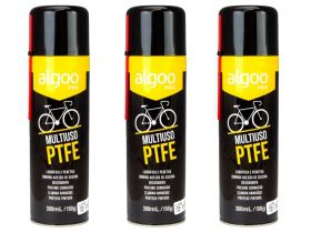 Lubrificante Bike Algoo Pro Multiuso Ptfe Spray 300 ml 3 Unidades Mtb Speed