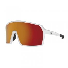 Óculos Ciclismo Hb Grinder Pearled White Orange Chrome