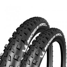 Pneus de Bicicleta Michelin Force Am Competition Line 29 x 2.25 Mtb Kevlar Par