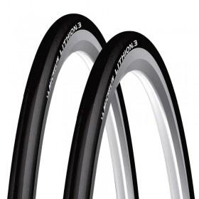 Pneus de Bicicleta Michelin Lithion 3 Performance Line 700 x 25 Speed Kevlar Par