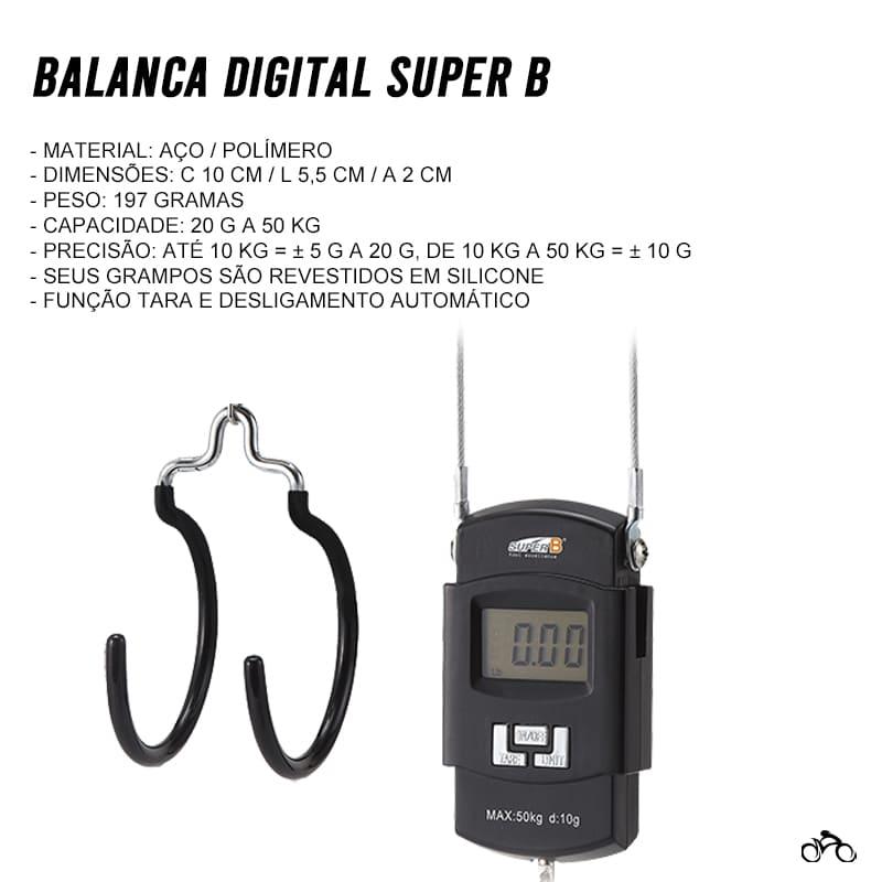 Balança Digital Super B TB-DS10 50kg