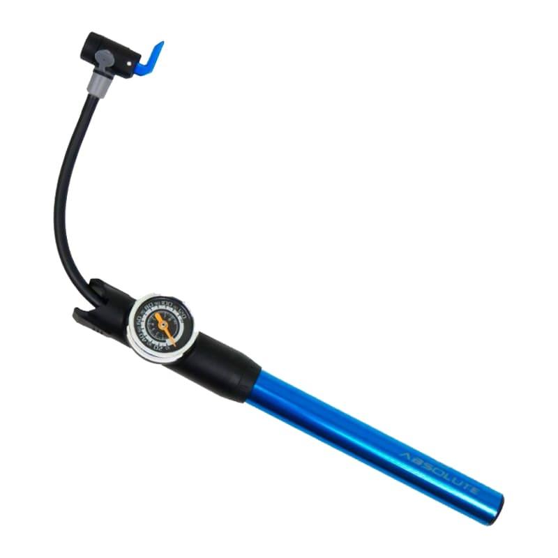 Bomba de Bicicleta Absolute Prime com Manômetro e Mangueira Mtb Speed