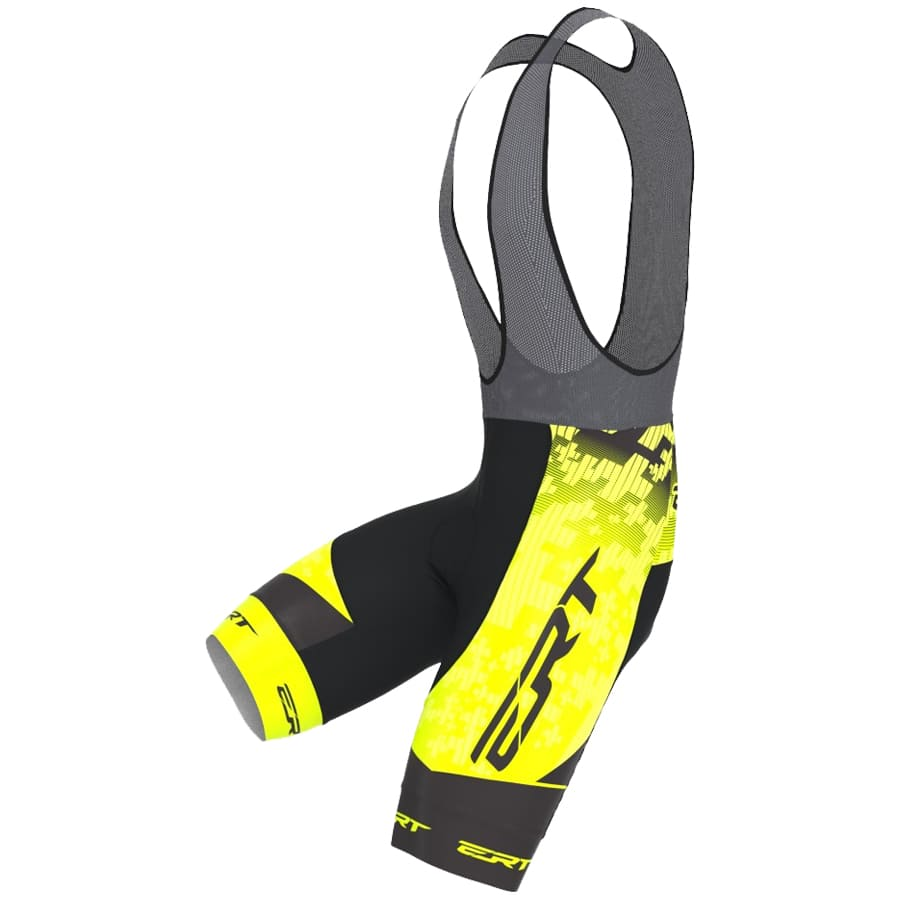 Bretelle Ciclismo Ert Forro Gel Team Amarelo II