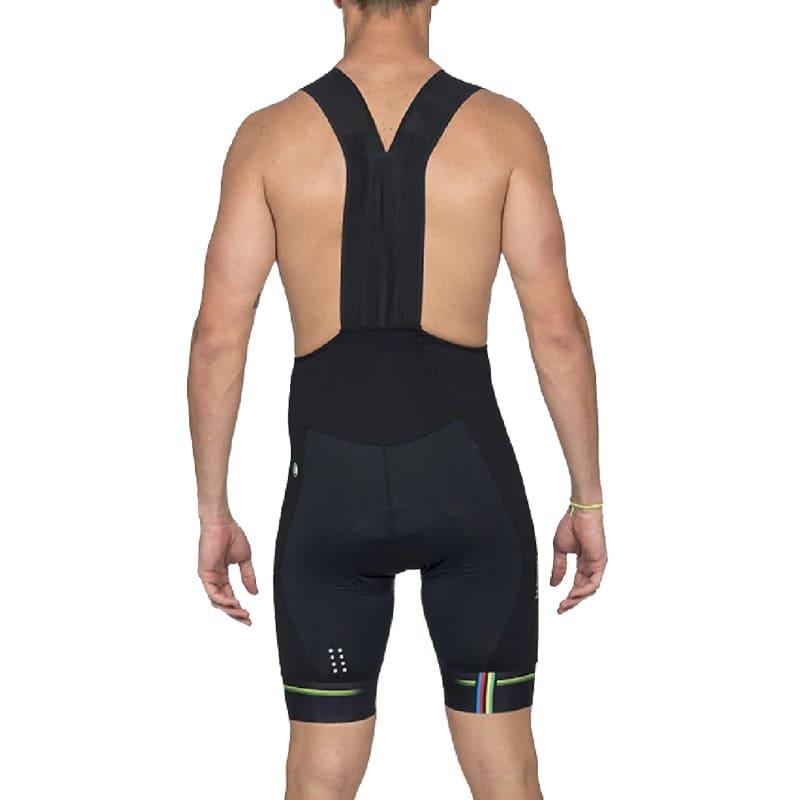 Bretelle Ciclismo Masculino Woom Supreme 2020 Preto e Verde