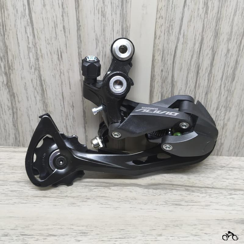 Câmbio Shimano Bike Traseiro Alivio M3100 Sgs 9v