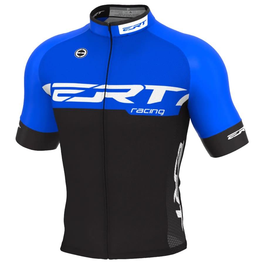 Camisa Ciclismo Ert Nova Elite Racing Azul Mtb Speed