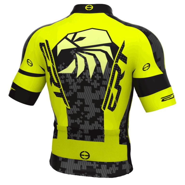 Camisa Ciclismo Ert Elite Team Amarela Mtb Speed