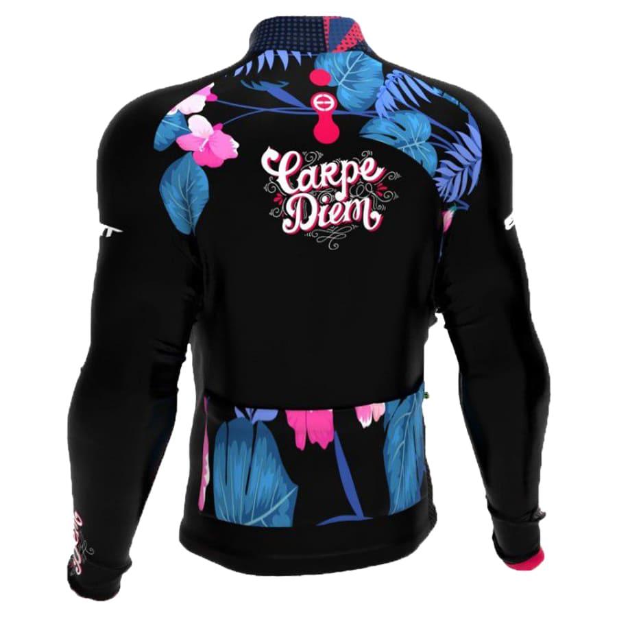 Camisa Ciclismo Ert Feminina Manga Longa Tour Carpe Diem Mtb Speed